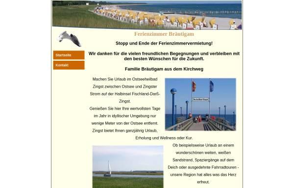 Vorschau von www.ferienzimmer-zingst.de, Ferienwohnung Zingst