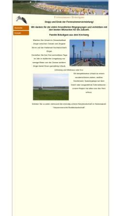 Vorschau der mobilen Webseite www.ferienzimmer-zingst.de, Ferienwohnung Zingst