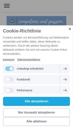 Vorschau der mobilen Webseite www.mind-systems.de, mind systems! - Institut für strategische Kommunikation