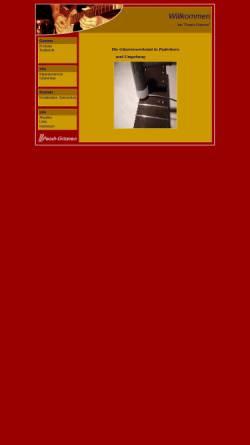 Vorschau der mobilen Webseite www.peach-gitarren.de, Peach Gitarren - Gitarrenbau nach Maß