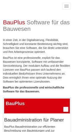 Vorschau der mobilen Webseite www.heiniger.ch, Heiniger & Partner AG