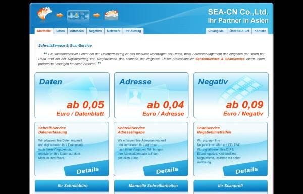Vorschau von www.seacn.org, Franz Joost & Co. - Industrievertretung ASIEN