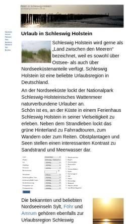 Vorschau der mobilen Webseite www.schleswig-holstein-24.de, Ferienunterkünfte in Schleswig-Holstein