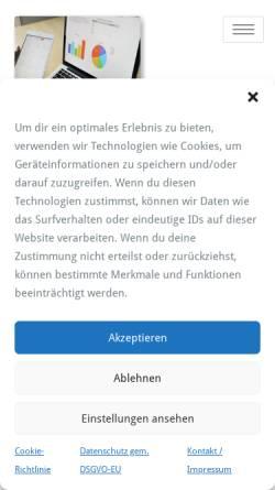 Vorschau der mobilen Webseite www.computer-pc-service.de, Computer & Medien Service - PC Notdienst Düsseldorf