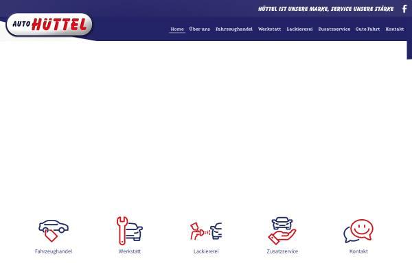 Vorschau von www.autohuettel.at, Auto Hüttel KFZ-Handel