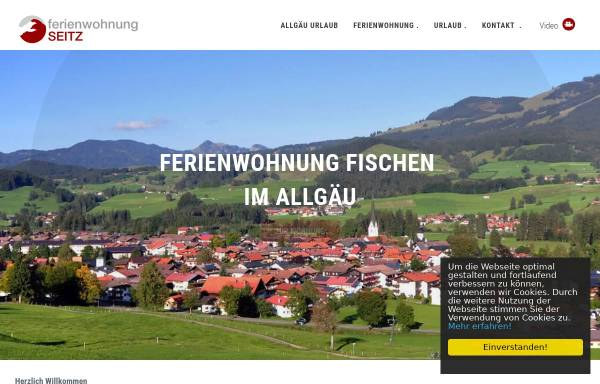 Vorschau von www.fischen-fewo.de, Ferienwohnung in Allgäu, Oberstdorf / Fischen