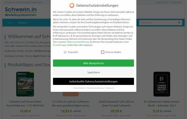 Vorschau von schwerin-news.de, Schwerin-News