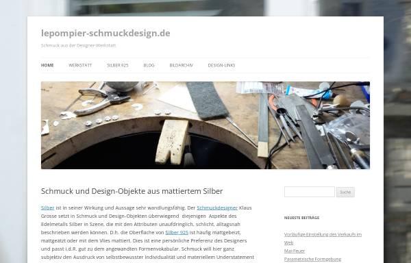 Vorschau von www.lepompier-schmuckdesign.de, lepompier-schmuckdesign