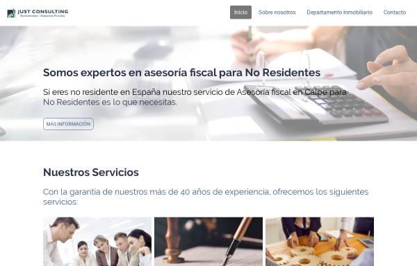 Vorschau von www.migueljust.com, Miguel Just