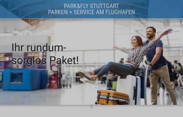 Vorschau von www.parkfly-stuttgart.de, Parkfly Stuttgart