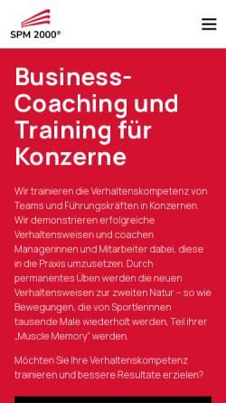 Vorschau der mobilen Webseite www.spm-2000.de, SPM-2000