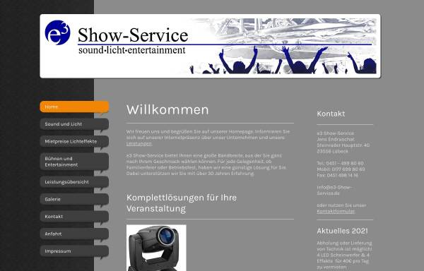 Vorschau von www.dj-endru.de, Startalt DJ ENDRU aus Lübeck