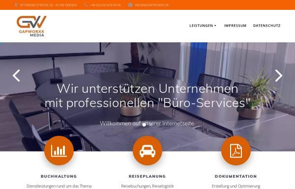 Vorschau von www.gap-worxx.de, Gap-worxx Internetagentur