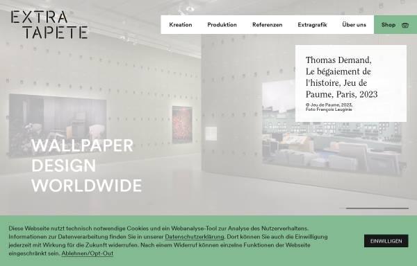 Vorschau von www.extratapete.de, Extratapete Berlin