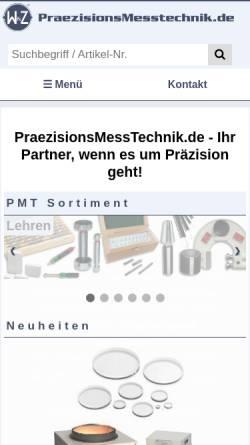 Vorschau der mobilen Webseite www.wuz-computer.de, W&Z-Computer-Vertrieb GmbH