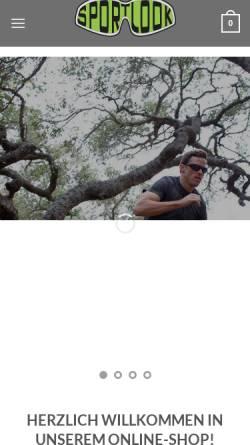 Vorschau der mobilen Webseite www.sport-look.com, sportslook.de