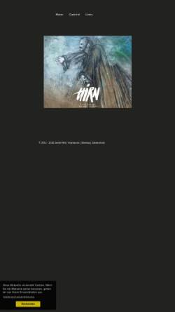 Vorschau der mobilen Webseite www.hirn.cc, GALERIE 60