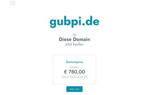 Vorschau von www.gubpi.de, GUBPI – Büro für Gutachten und Umweltbildung