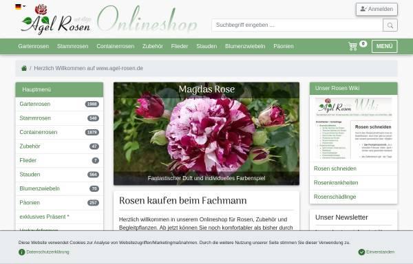 Vorschau Von Www.agel Rosen.de, Agel Rosen GmbH   Onlineshop ...