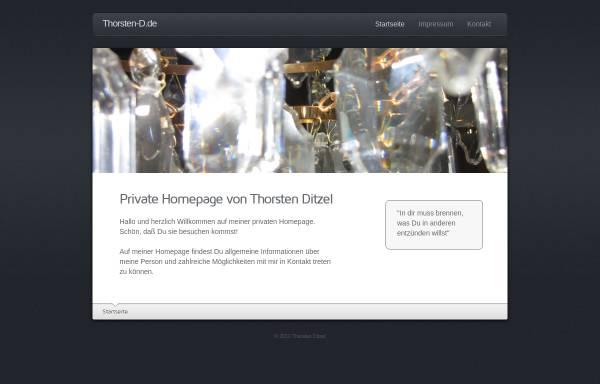 Vorschau von www.thorsten-d.de, Ditzel, Thorsten