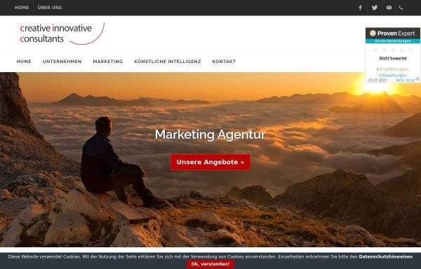 Vorschau von www.ciconsultants.de, ciconsultants.de - Unternehmensberatung für Marketing im Raum Hamburg