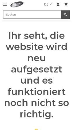 Vorschau der mobilen Webseite www.scale-bikes.de, Scale-Bikes ::: Exklusive Modellmotorräder und Zubehör
