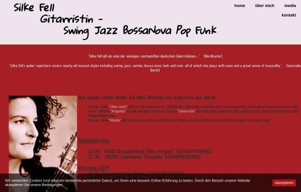 Vorschau von www.gitarristin.com, Gitarristin Silke Fell aus Berlin