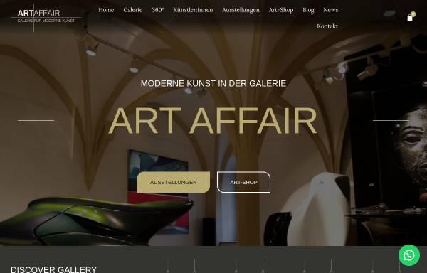 Vorschau von www.art-affair.net, Art Affair - Galerie für Moderne Kunst