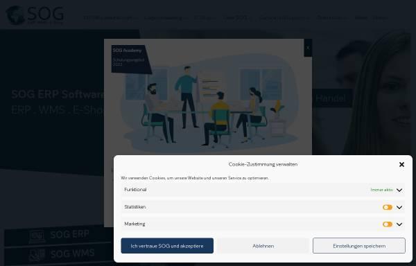 Vorschau von www.sog.de, SOG GmbH