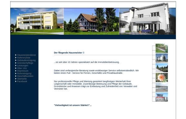 Vorschau von www.fliegende-hausmeister.de, Der fliegende Hausmeister