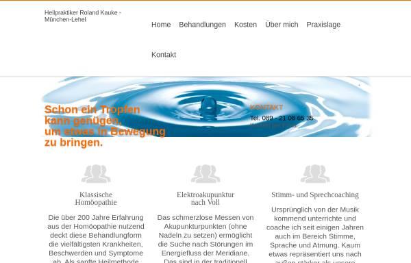 Vorschau von www.homoeopathie-miasmatik.de, Praxis für klassische Homöopathie und Elektroakupunktur-Diagnostik