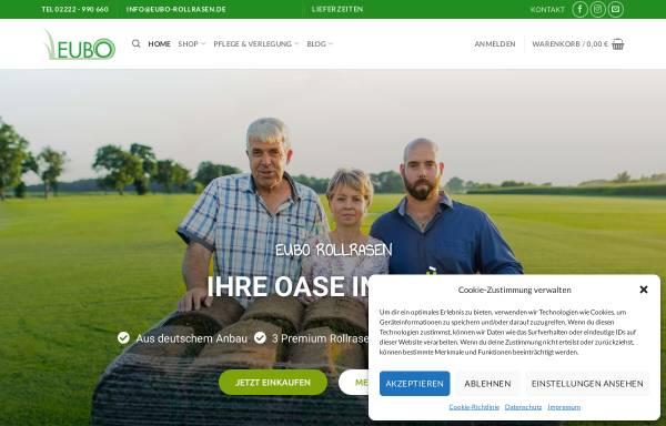 Vorschau von www.eubo-rollrasen.de, EUBO Rollrasen