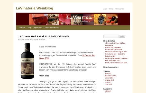 Vorschau von www.lavinateria.de, LaVinateria.de