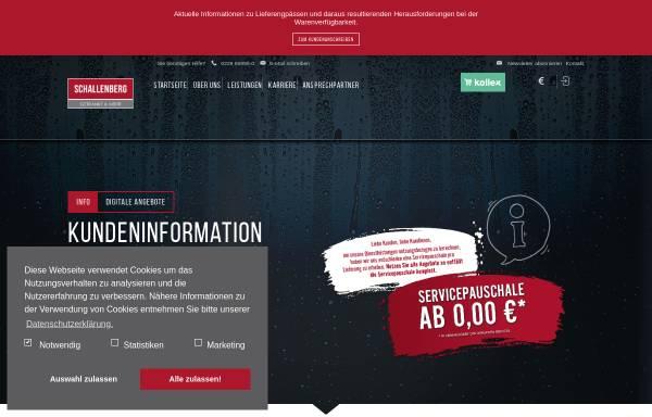 Vorschau von www.getraenke-schallenberg.de, Getränke Schallenberg in Bonn