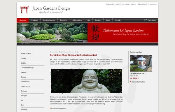 Vorschau von www.japan-gardens.de, japan-gardens.de - Alles für japanische Gärten
