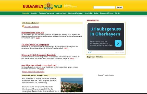 Vorschau von www.bulgarien-web.de, Bulgarien-Web.de
