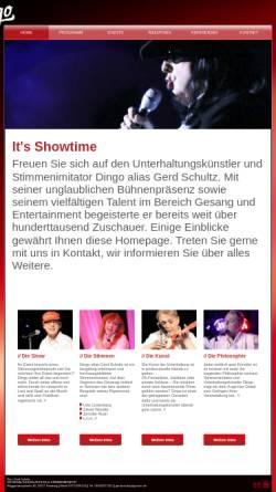 Vorschau der mobilen Webseite www.derdingo.de, Stimmenimitator Dingo - ein echtes Highlight für Ihre Veranstaltung