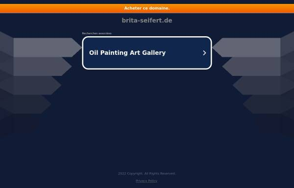 Vorschau von www.brita-seifert.de, Seifert, Brita