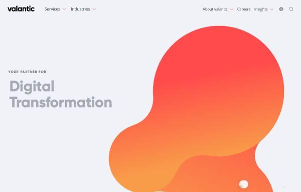 Vorschau von www.valantic.com, Icubic AG