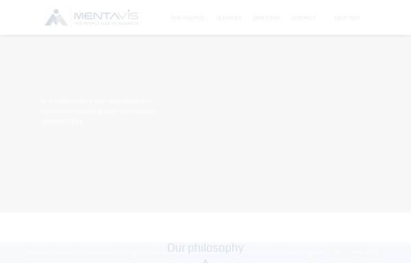 Vorschau von www.mentavis.com, Mentavis - Stärken fördern, Vielfalt nutzen