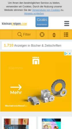 Vorschau der mobilen Webseite www.ploettner-verlag.de, Plöttner Verlag Leipzig