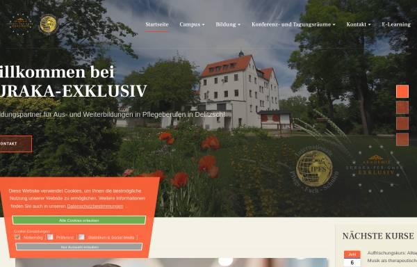 Vorschau von www.euraka-exklusiv.de, Euraka Exklusiv – Akademie für Bildung und Personalentwicklung