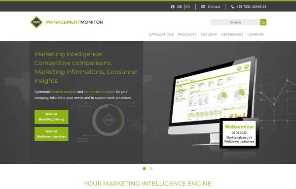 Vorschau von www.management-monitor.de, management-monitor.de