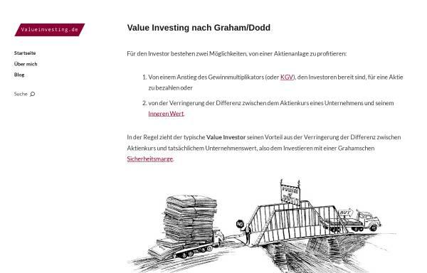 Vorschau von www.valueinvesting.de, Valueinvesting.de