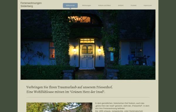 Vorschau von www.ferienwohnungen-soederberg-sylt.de, Ferienwohnung Keitum