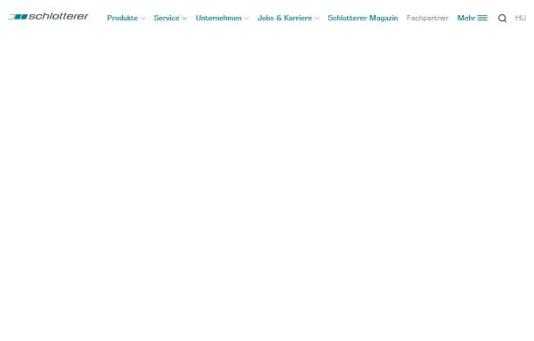 Vorschau von www.schlotterer.at, Schlotterer Rollladen, Klappladen und Insektenschutz für Fenster