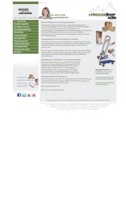 Vorschau der mobilen Webseite www.umzugsshop-koeln.info, Movemaster - Umzugsberatung mit Umzugsshop in Köln