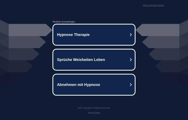 Vorschau von www.hypnotherapeutenschule.de, Hypnose Ausbildung