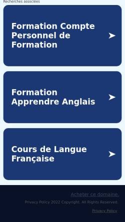 Vorschau der mobilen Webseite www.hypnotherapeutenschule.de, Hypnose Ausbildung