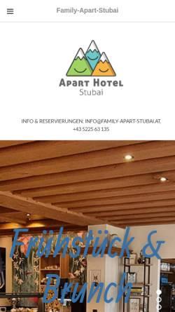 Vorschau der mobilen Webseite www.atzinger.at, Hotel Atzinger - Familienurlaub in Tirol